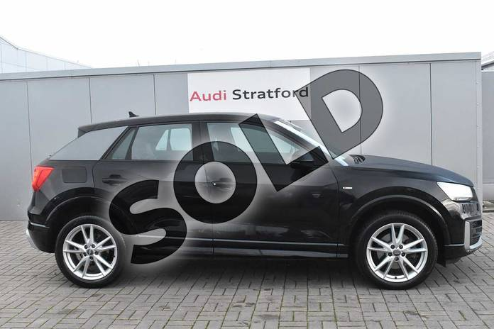 Image four of this 2018 Audi Q2 Diesel Estate 30 TDI S Line 5dr in Myth Black Metallic at Stratford Audi