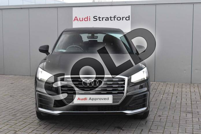 Image seven of this 2018 Audi Q2 Diesel Estate 30 TDI S Line 5dr in Myth Black Metallic at Stratford Audi