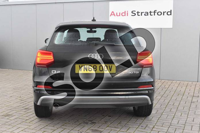 Image nine of this 2018 Audi Q2 Diesel Estate 30 TDI S Line 5dr in Myth Black Metallic at Stratford Audi