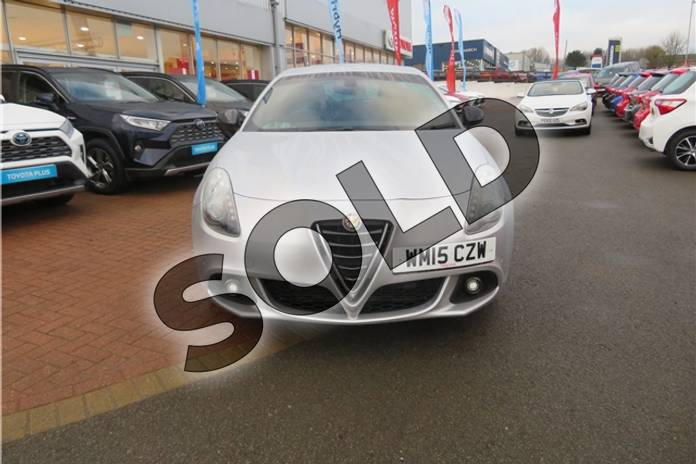 Image eight of this 2015 Alfa Romeo Giulietta Hatchback 1.4 TB MultiAir QV Line 5dr TCT in Metallic - Alfa silver at Listers Toyota Grantham