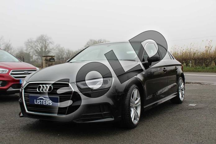 Image three of this 2016 Audi A3 Saloon 1.4 TFSI S Line 4dr in Myhtos Black at Listers Volvo Worcester