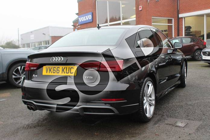 Image six of this 2016 Audi A3 Saloon 1.4 TFSI S Line 4dr in Myhtos Black at Listers Volvo Worcester