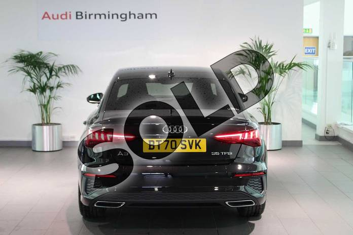 Image fourteen of this 2020 Audi A3 Saloon 35 TFSI S line 4dr S Tronic in Myth Black Metallic at Birmingham Audi