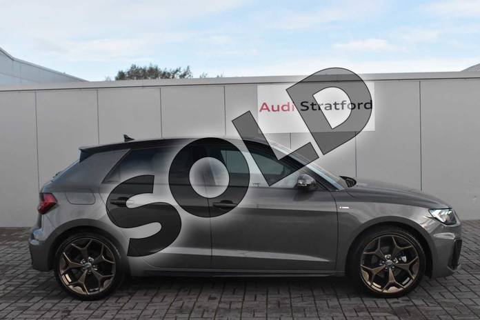 Image four of this 2019 Audi A1 Sportback Special Editions 35 TFSI S Line Style Edition 5dr S Tronic in Chronos Grey Metallic at Stratford Audi