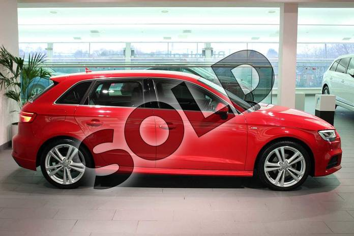 Image four of this 2016 Audi A3 Sportback 1.4 TFSI S Line 5dr in Tango Red Metallic at Birmingham Audi