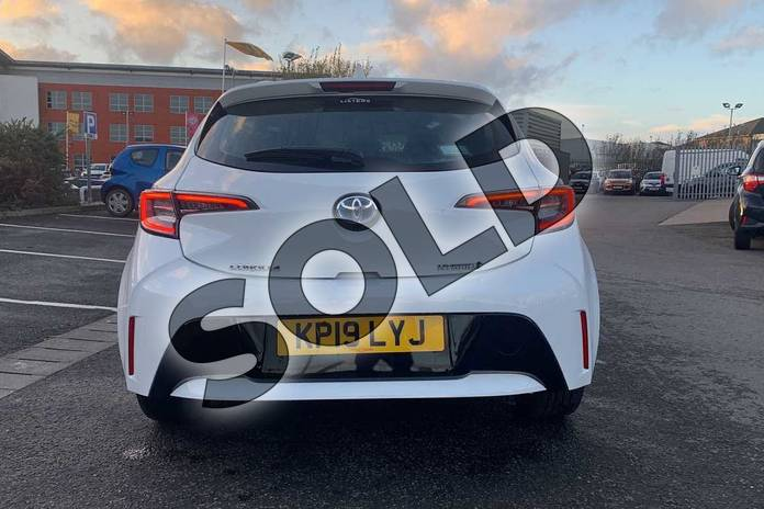 Image nineteen of this 2019 Toyota Corolla Hatchback 1.8 VVT-i Hybrid Icon 5dr CVT in White at Listers Toyota Nuneaton