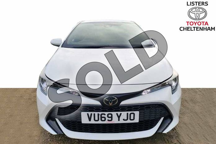 Image fifteen of this 2019 Toyota Corolla Hatchback 1.2T VVT-i Icon Tech 5dr in Pure White at Listers Toyota Cheltenham