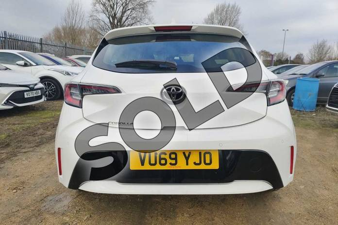 Image nineteen of this 2019 Toyota Corolla Hatchback 1.2T VVT-i Icon Tech 5dr in Pure White at Listers Toyota Cheltenham