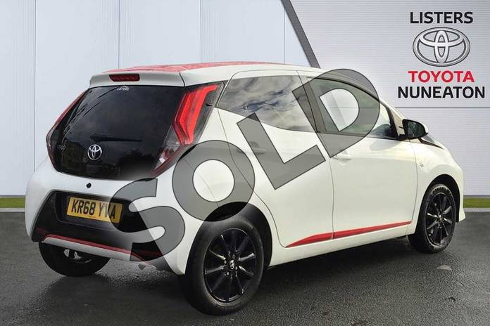 Image two of this 2018 Toyota Aygo Hatchback 1.0 VVT-i X-Press 5dr in White at Listers Toyota Nuneaton