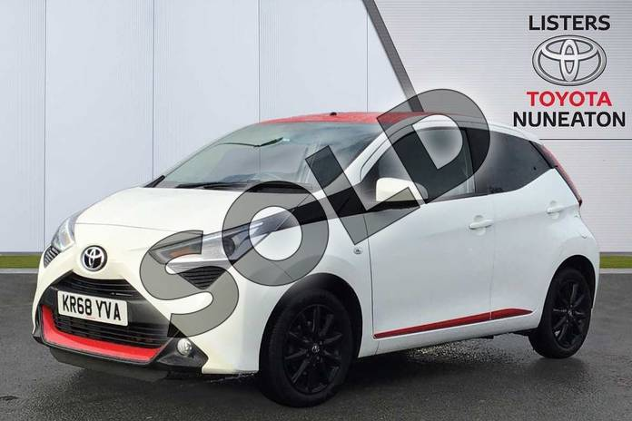 Image three of this 2018 Toyota Aygo Hatchback 1.0 VVT-i X-Press 5dr in White at Listers Toyota Nuneaton