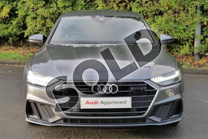 Image seven of this 2018 Audi A7 Diesel Sportback 50 TDI Quattro S Line 5dr Tip Auto in Daytona Grey Pearlescent at Worcester Audi