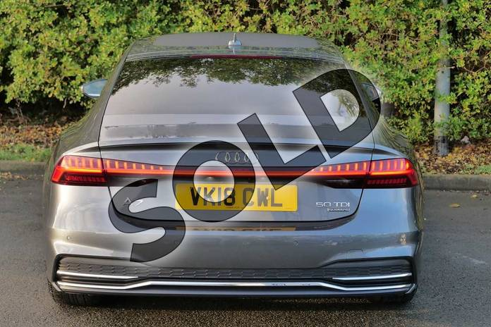 Image nine of this 2018 Audi A7 Diesel Sportback 50 TDI Quattro S Line 5dr Tip Auto in Daytona Grey Pearlescent at Worcester Audi