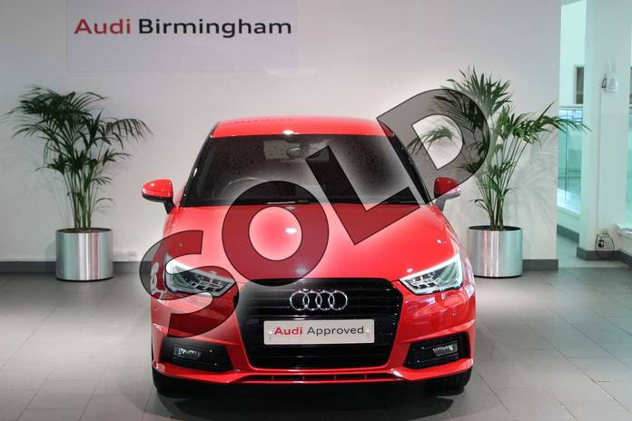 Image seven of this 2016 Audi A1 Hatchback Special Editions 1.6 TDI Black Edition 3dr in Misano Red Pearlescent at Birmingham Audi