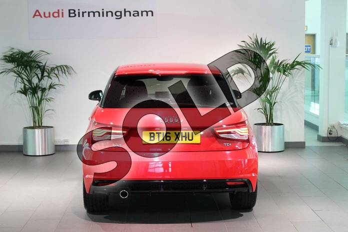 Image thirteen of this 2016 Audi A1 Hatchback Special Editions 1.6 TDI Black Edition 3dr in Misano Red Pearlescent at Birmingham Audi