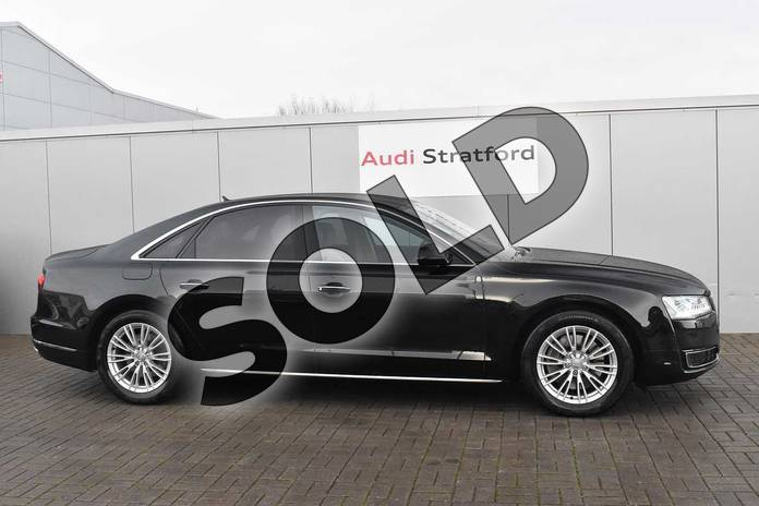 Image four of this 2016 Audi A8 Diesel Saloon 3.0 TDI 262 Quattro SE Executive 4dr Tip Auto in Myth Black Metallic at Stratford Audi