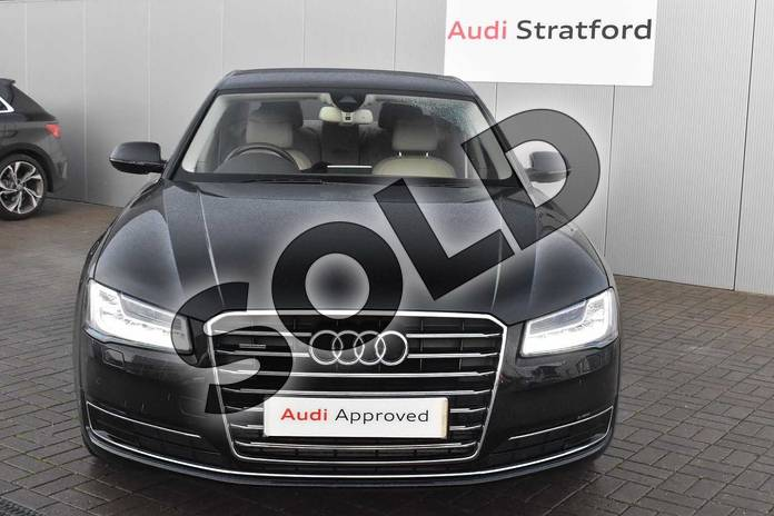 Image seven of this 2016 Audi A8 Diesel Saloon 3.0 TDI 262 Quattro SE Executive 4dr Tip Auto in Myth Black Metallic at Stratford Audi