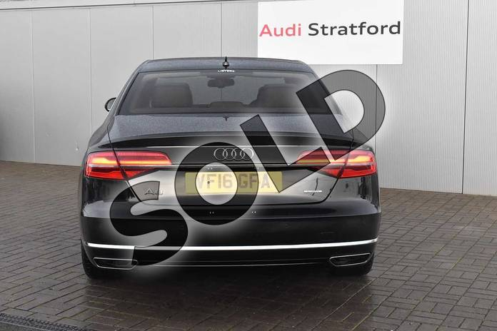 Image nine of this 2016 Audi A8 Diesel Saloon 3.0 TDI 262 Quattro SE Executive 4dr Tip Auto in Myth Black Metallic at Stratford Audi