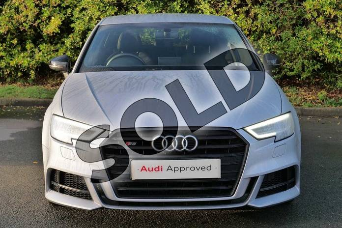 Image seven of this 2017 Audi A3 Sportback Special Editions S3 TFSI Quattro Black Edition 5dr S Tronic in Floret Silver Metallic at Worcester Audi