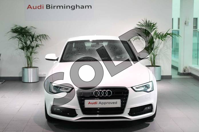 Image seven of this 2015 Audi A5 Diesel Coupe 2.0 TDI 177 Quattro S Line 2dr in Ibis White at Birmingham Audi
