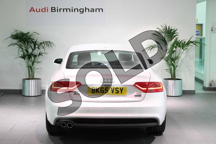 Image fourteen of this 2015 Audi A5 Diesel Coupe 2.0 TDI 177 Quattro S Line 2dr in Ibis White at Birmingham Audi