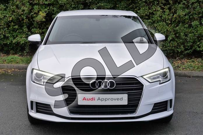 Image seven of this 2018 Audi A3 Sportback 1.5 TFSI Sport 5dr S Tronic in Ibis White at Worcester Audi