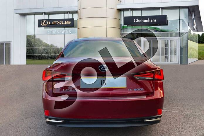 Image nine of this 2020 Lexus IS Saloon 300h 4dr CVT Auto in Red at Lexus Cheltenham
