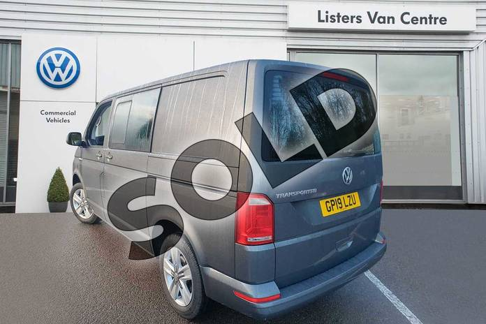 Image three of this 2019 Volkswagen Transporter T32 SWB Diesel 2.0 TDI BMT 150 Highline Kombi Van in Grey at Listers Volkswagen Van Centre Coventry
