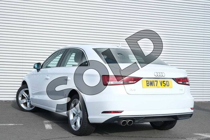 Image three of this 2017 Audi A3 Diesel Saloon 2.0 TDI Sport 4dr in Glacier White Metallic at Coventry Audi