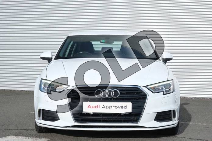 Image seven of this 2017 Audi A3 Diesel Saloon 2.0 TDI Sport 4dr in Glacier White Metallic at Coventry Audi