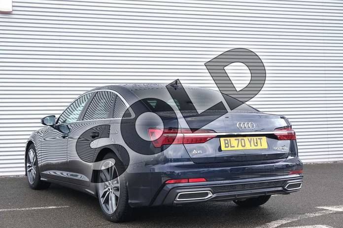 Image three of this 2020 Audi A6 Saloon 50 TFSI e Quattro S Line 4dr S Tronic in Firmament Blue Metallic at Coventry Audi