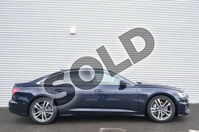 Image four of this 2020 Audi A6 Saloon 50 TFSI e Quattro S Line 4dr S Tronic in Firmament Blue Metallic at Coventry Audi