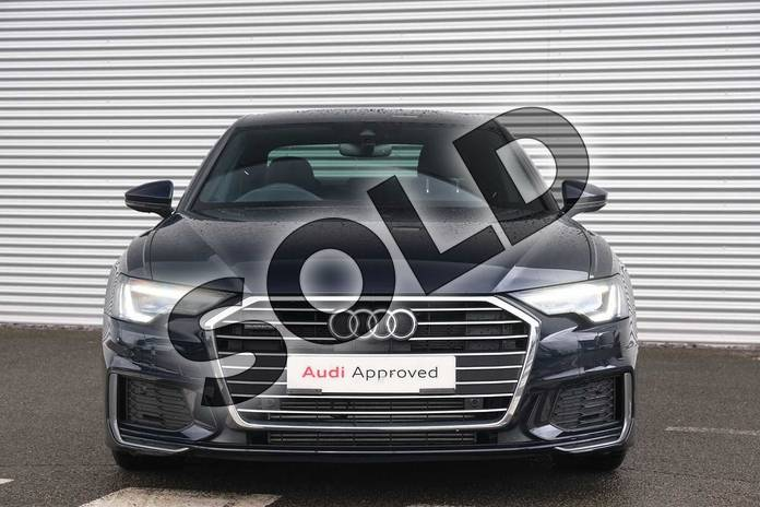 Image seven of this 2020 Audi A6 Saloon 50 TFSI e Quattro S Line 4dr S Tronic in Firmament Blue Metallic at Coventry Audi