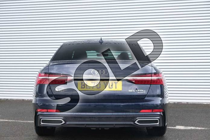 Image eight of this 2020 Audi A6 Saloon 50 TFSI e Quattro S Line 4dr S Tronic in Firmament Blue Metallic at Coventry Audi
