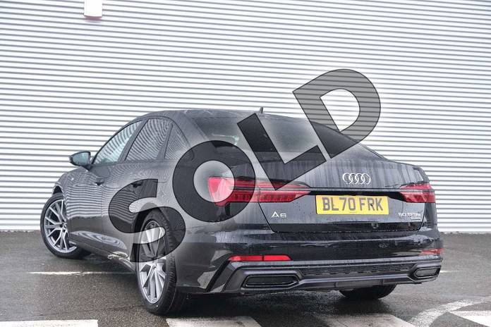 Image three of this 2020 Audi A6 Saloon 50 TFSI e Quattro Black Edition 4dr S Tronic in Myth Black Metallic at Coventry Audi