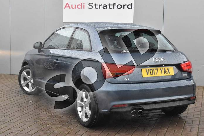 Image three of this 2017 Audi A1 Hatchback 1.4 TFSI Sport 3dr in Utopia Blue Metallic at Stratford Audi