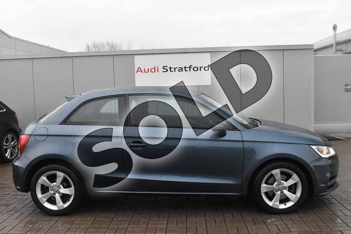 Image four of this 2017 Audi A1 Hatchback 1.4 TFSI Sport 3dr in Utopia Blue Metallic at Stratford Audi