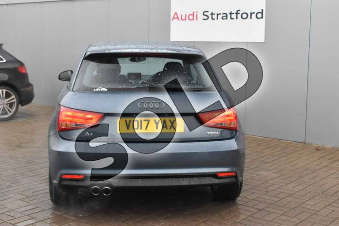 Image nine of this 2017 Audi A1 Hatchback 1.4 TFSI Sport 3dr in Utopia Blue Metallic at Stratford Audi