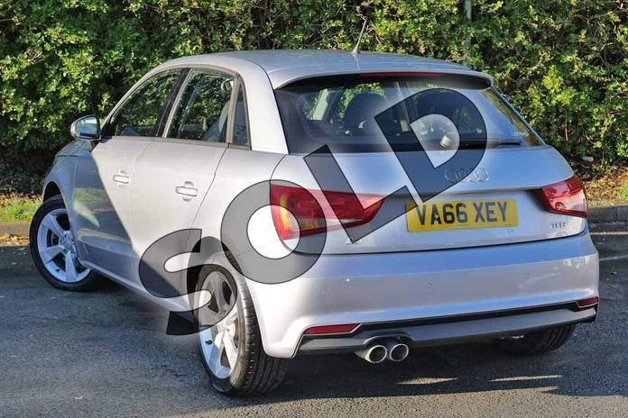 Image three of this 2017 Audi A1 Sportback 1.4 TFSI Sport 5dr in Floret Silver Metallic at Worcester Audi