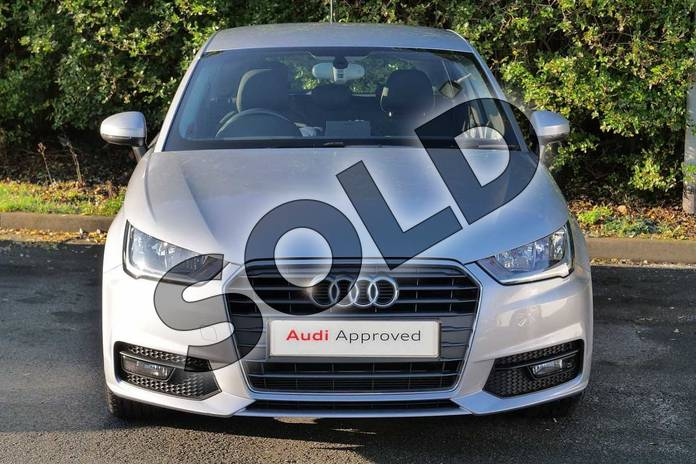 Image seven of this 2017 Audi A1 Sportback 1.4 TFSI Sport 5dr in Floret Silver Metallic at Worcester Audi
