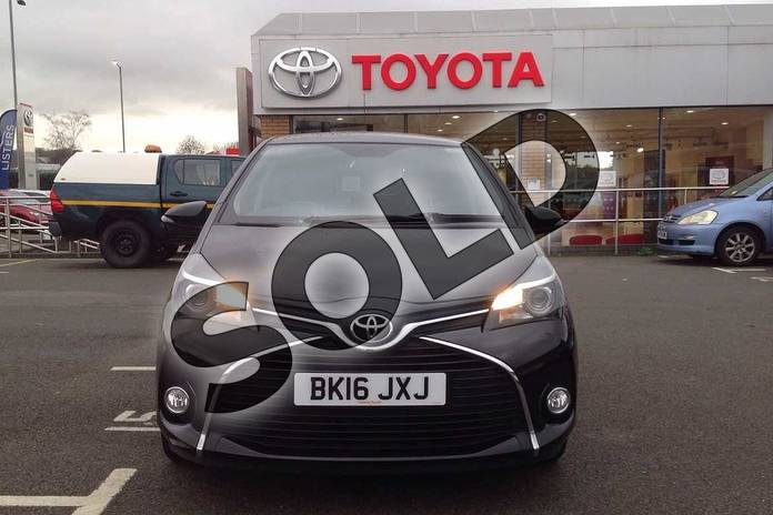 Image fifteen of this 2016 Toyota Yaris Hatchback 1.33 VVT-i Icon 5dr in Black at Listers Toyota Coventry