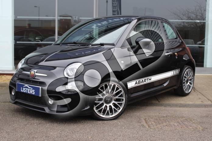 Picture of Abarth 595 1.4 T-Jet 145 3dr in Metallic - Scorpione Black