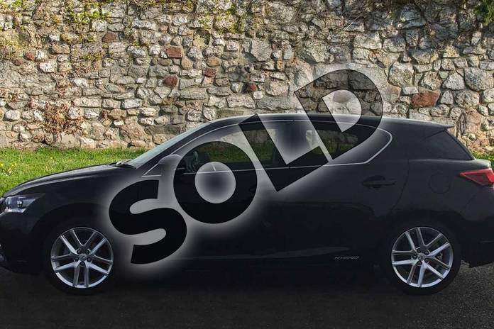 Image three of this 2019 Lexus CT Hatchback 200h 1.8 5dr CVT in Velvet Black at Lexus Coventry