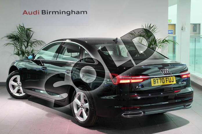 Image three of this 2020 Audi A6 Saloon 50 TFSI e Quattro Sport 4dr S Tronic in Myth Black Metallic at Birmingham Audi