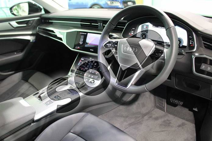 Image six of this 2020 Audi A6 Saloon 50 TFSI e Quattro Sport 4dr S Tronic in Myth Black Metallic at Birmingham Audi