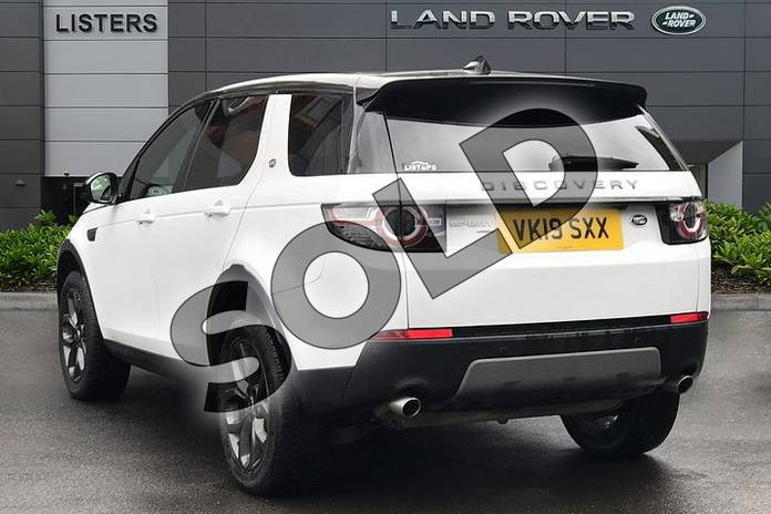 Image two of this 2019 Land Rover Discovery Sport 2.0 TD4 (180hp) Landmark in Yulong White at Listers Land Rover Droitwich