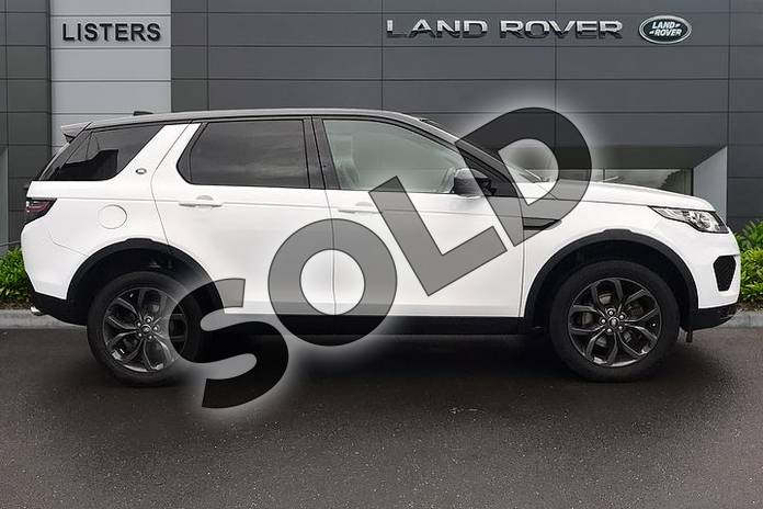 Image five of this 2019 Land Rover Discovery Sport 2.0 TD4 (180hp) Landmark in Yulong White at Listers Land Rover Droitwich
