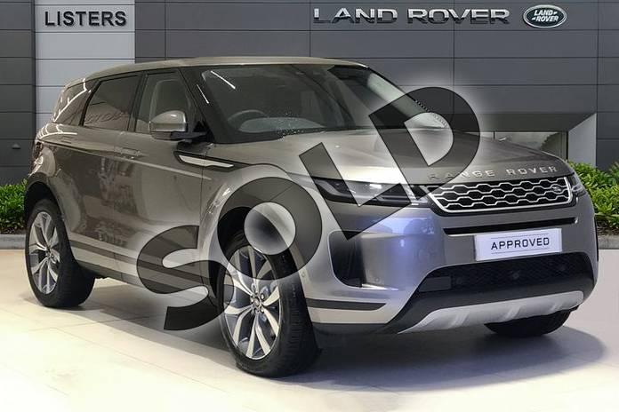 Picture of Range Rover Evoque 2.0 D180 HSE 5dr Auto in Silicon Silver