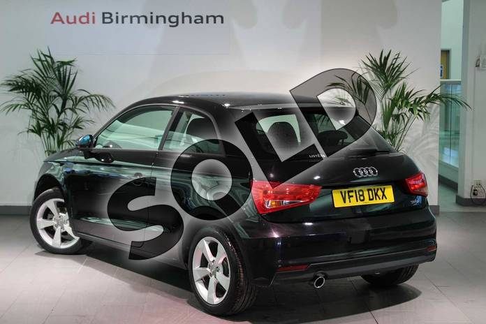 Image three of this 2018 Audi A1 Hatchback 1.0 TFSI Sport Nav 3dr in Myth Black Metallic at Birmingham Audi