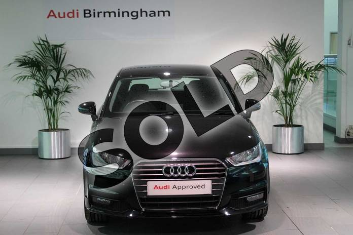 Image seven of this 2018 Audi A1 Hatchback 1.0 TFSI Sport Nav 3dr in Myth Black Metallic at Birmingham Audi