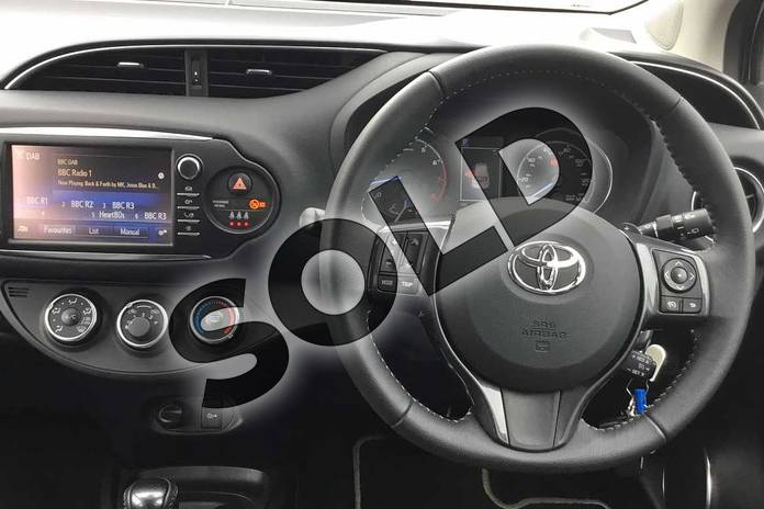 Image six of this 2019 Toyota Yaris Hatchback 1.5 VVT-i Y20 5dr CVT (Bi-tone) in Tyrol Silver at Listers Toyota Boston